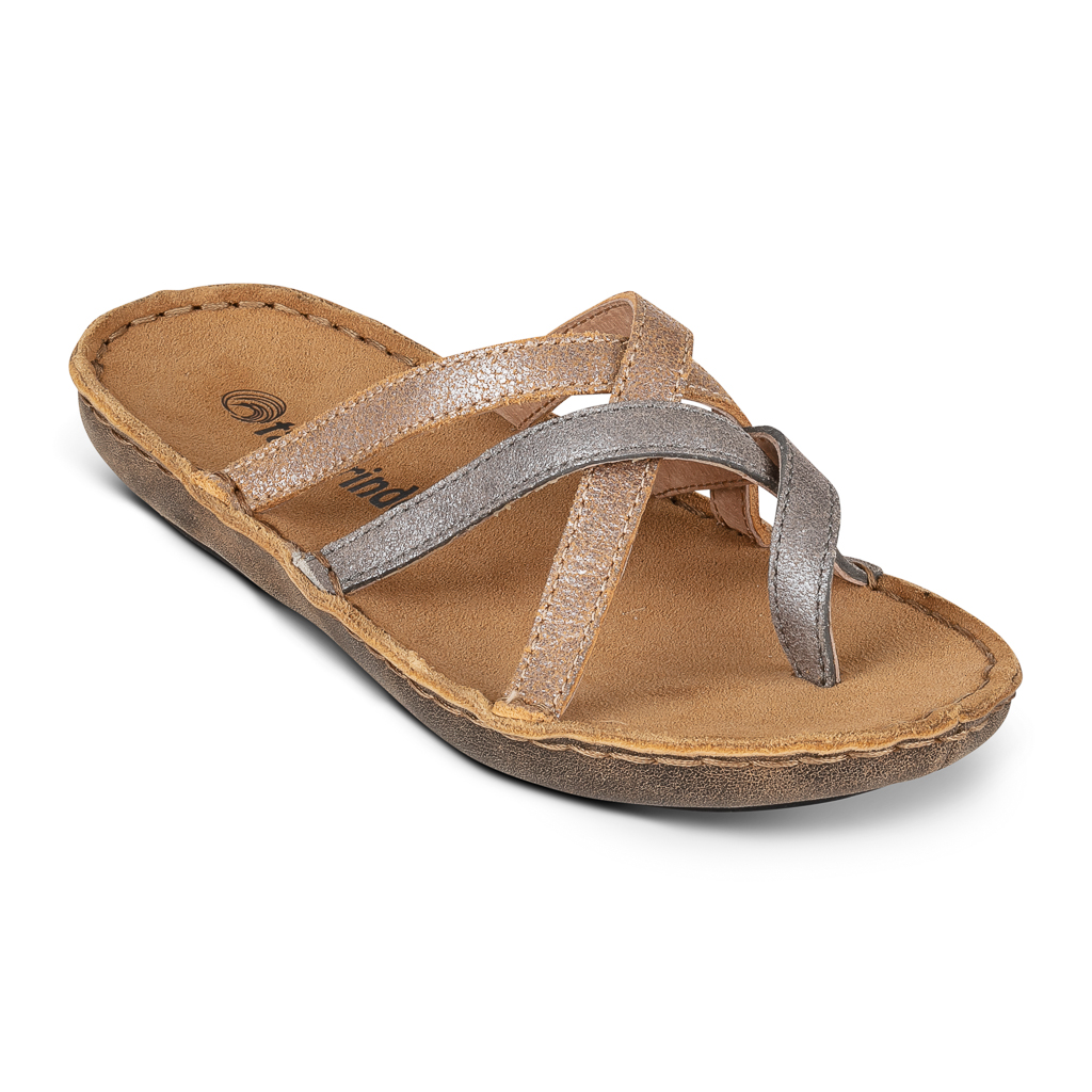 Tamarindo sandal shot on white in studio for web and print catalog in Litlleton, CO